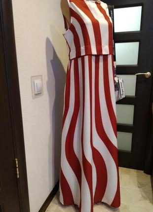 Вечернее стильное длинное платье