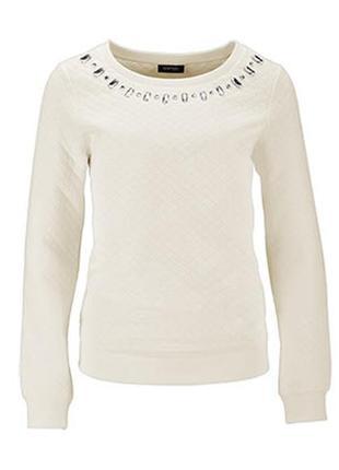 Тренд для гардероба продвинутой модницы - стеганый свитшот tchibo, германия