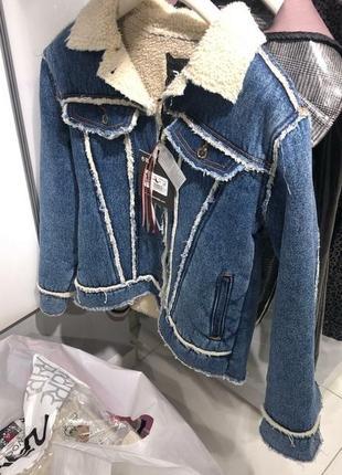 Джинсовая курточка raw