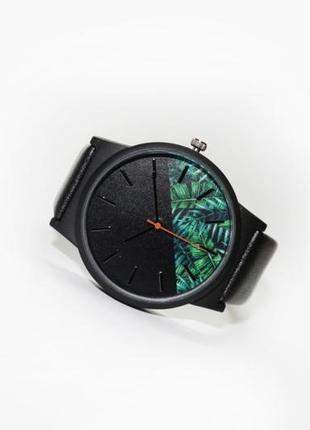 Часы flower green