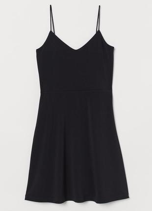 Новое черное платье сарафан h&m, под гольф или футболку. размеры 34 и 44