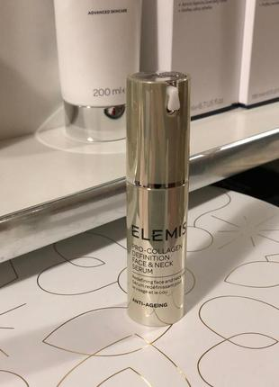 Elemis pro-collagen definition face & neck serum сыворотка для лица и шеи
