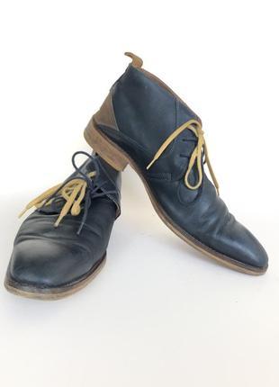 Синие туфли 43 размер