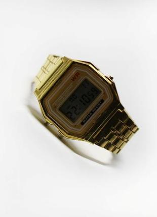 Часы vintage gold