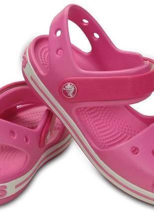 Босоножки крокс crocs crocband sandal kids, j1