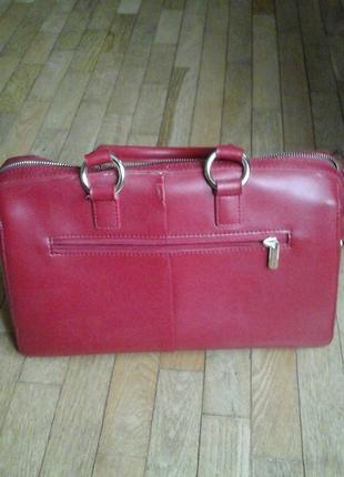 Красная сумка фирмы antonio biaggi2 фото
