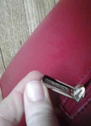 Красная сумка фирмы antonio biaggi5 фото