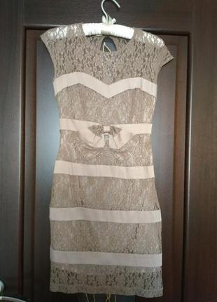 Крутое гипюровое платье