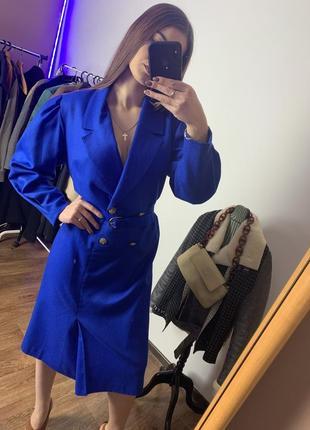 Платье синее givenchy оригинал