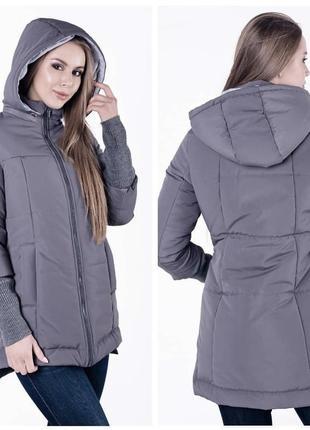 Куртка євро зима / куртка для вагітних / куртка для беременных