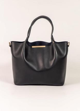 Красива жіночна сумка середнього розміру