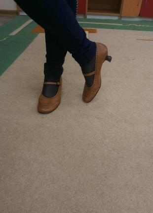 Шок цена/туфли из натуральной кожи 99 грн