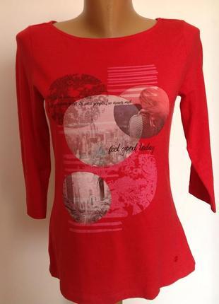 Базовая котоновая футболка от бренда tom tailor- s