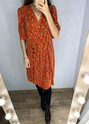 Платье в цветочный принт  asos