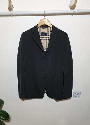 Полушерстяной пиджак burberry london