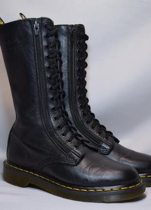 Ботинки dr. martens женские кожаные. таиланд. оригинал. 38 р./24.5 см.