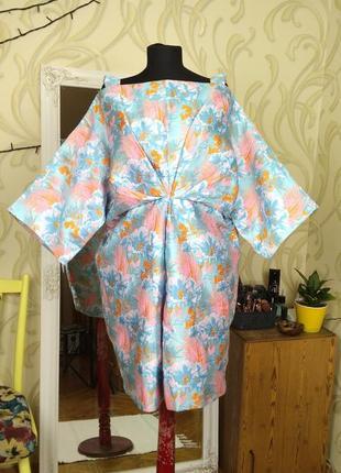 Платье кимоно. размер l/xl