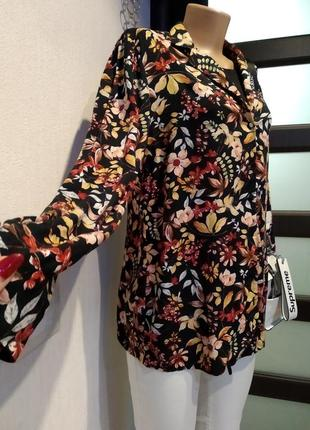 Яркая стильная рубашка блузка