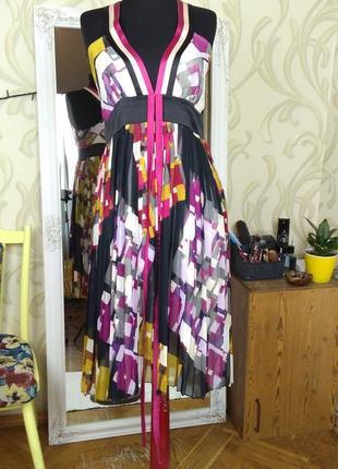 Платье плиссировка. размер l