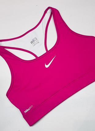 Nike pro спортивный топ