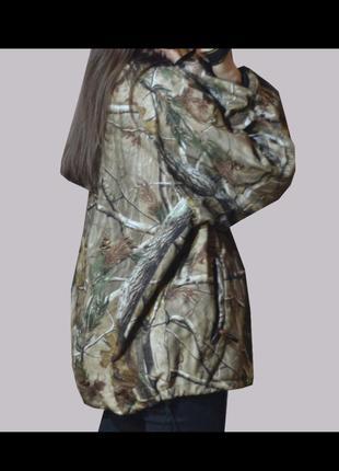 Куртка весна осень камуфляжная охотничья оверсайз унисекс
