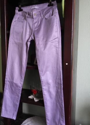 Фіолетові жіночі штани