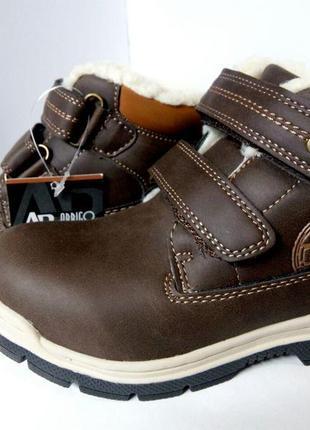 Ботинки детские, термо-ботинки, зимние, демисезонный, для мальчика, сапожки