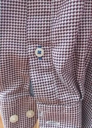 Стильная, нарядная рубашка, размер л tommy hilfiger