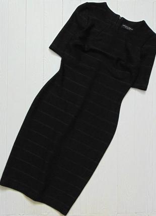 Dorothy perkins. размер 6 (34) или xs. чёрное бандажное платье для девушки