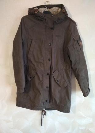 Очень теплая зимняя куртка парка tenson