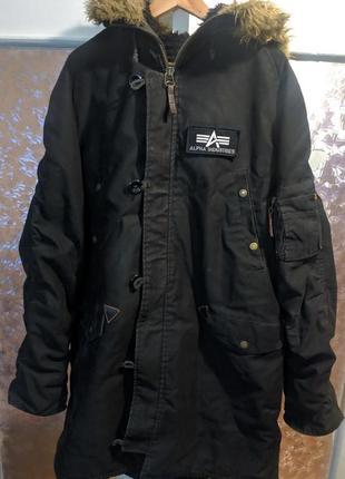 Парка alpha industries n-3b куртка m-65 svastone бомбер thor steinar surplus mil-tec 5.11