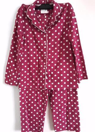 Очень крутая пижама в горошек
