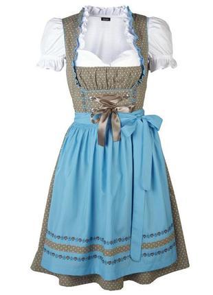 Женственное платье сарафан дирндль, esmara (германия), р.40 евро
