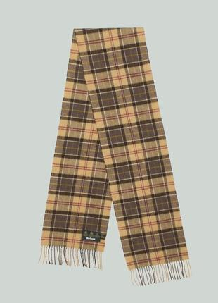 Шарф barbour mens muted tartan lambswool scarf