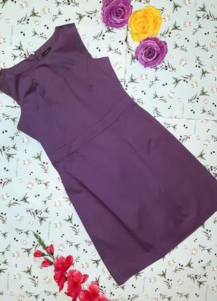 🌿1+1=3 стильное фиолетовое плотное платье миди f&f, размер 46 - 48