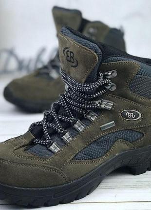 Демисезонные трекинговые ботинки зимние gote tex