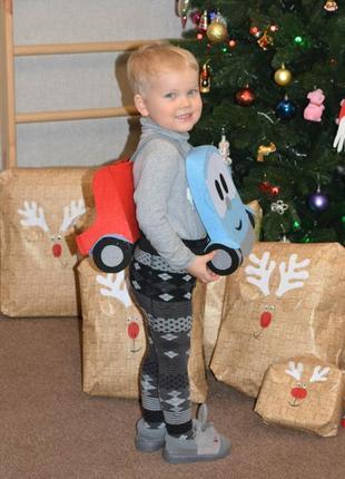 Новогодний костюм грузовичок лёва, машинка, карнавальный костюм для мальчика