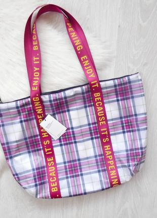 Крутейшая сумка шоппер bershka