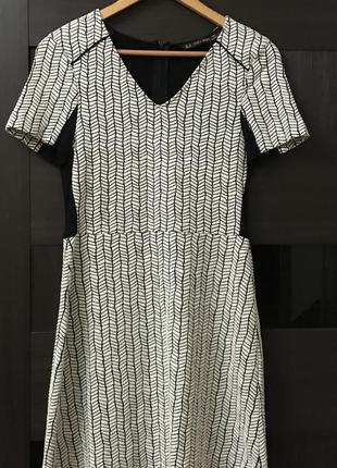 Платье zara p.m #200. 1+1=3🎁