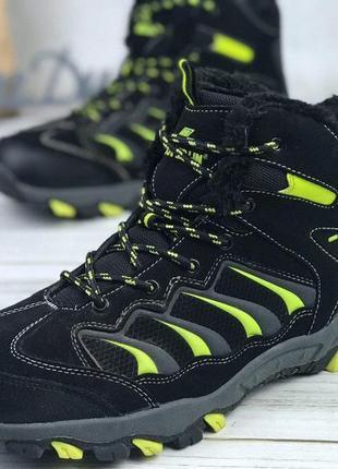 Трекинговые ботинки зимние gote tex зимние на меху