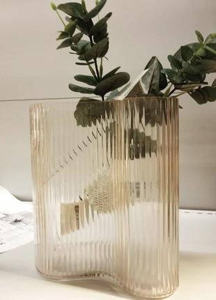 Ваза 10х18х21см стекло