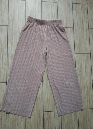 Стильные кюлоты бриджи укороченные брюки
