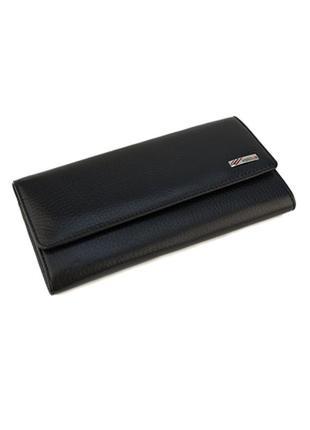 Женский кожаный кошелек desisan турция черного цвета