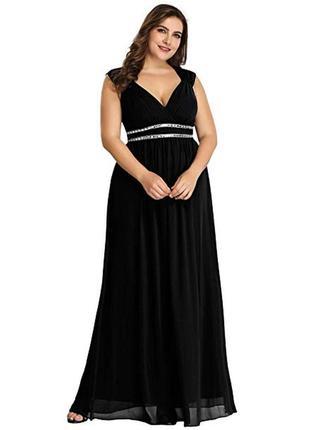 Платье вечернее праздничное новогоднее блестящее длинное со шлейфом в пайетки