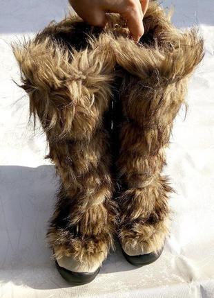 Стильные зимние сапоги унты bogner р.39 оригинал идеальное