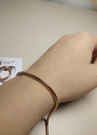 Медицинский сплав цепочка fallon jewelry
