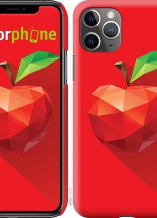 "Чехол ""яблоко"" для iphone 11 pro max"