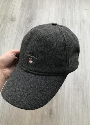 Gant шерстяная кепка оригинал, не paul & shark x burberry