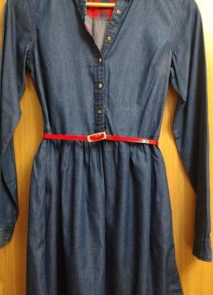 Джинсовое платье , р. xs-s