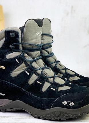 Трекинговые ботинки зимние gote tex salomon зимние